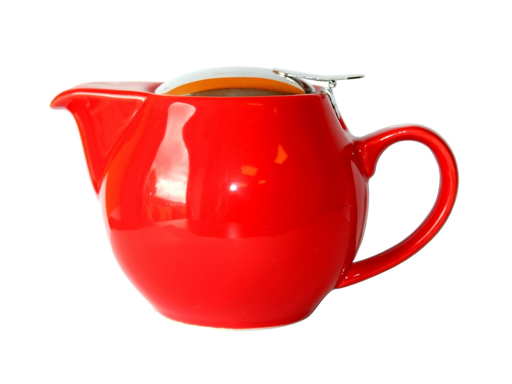 """Teapot """"Saara"""" 0,9L Red"""