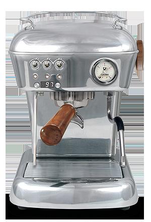 ASCASO DREAM PID-POLISHED ALUMINIUM espresso machine