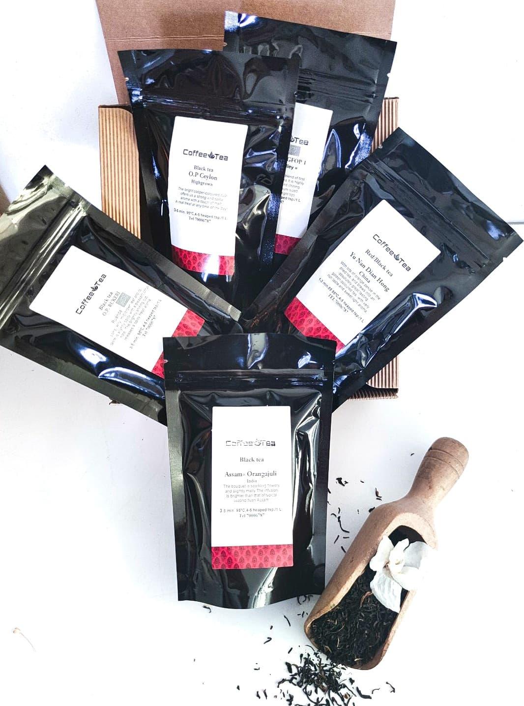 """Box of Tea Assortment """"Black Tea"""""""