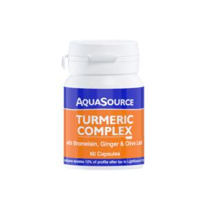 AquaSource Turmeric Complex 60 Veg Caps