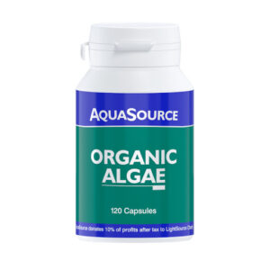 AquaSource Organic Algae 120 Veg Caps