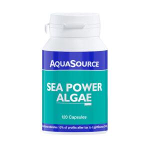 Sea Power Algae 120 Veg Caps